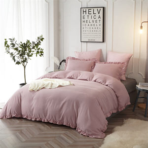 The Ruffled Blush Bed Set - Tapestry Girls