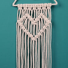 Load image into Gallery viewer, Boho Crescent Macrame Dreamcatcher - Tapestry Girls