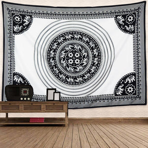 Boho Elephant Tapestry - Tapestry Girls