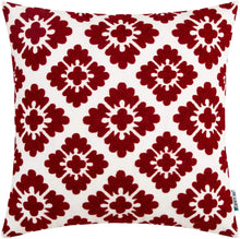 Load image into Gallery viewer, Burgundy Diamond Pillow - Tapestry Girls
