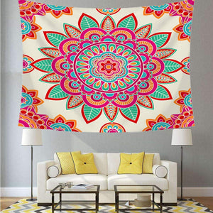 Burst Mandala Tapestry - Tapestry Girls