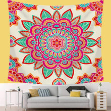 Load image into Gallery viewer, Burst Mandala Tapestry - Tapestry Girls