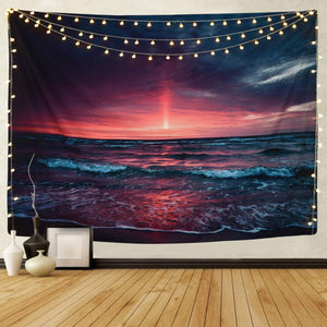 Beach Night Tapestry - Tapestry Girls