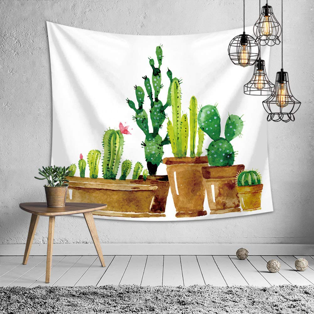Modern Cactus Tapestry - Tapestry Girls