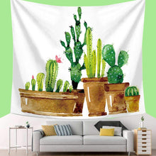 Load image into Gallery viewer, Modern Cactus Tapestry - Tapestry Girls