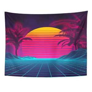 Miami Retro Tapestry - Tapestry Girls