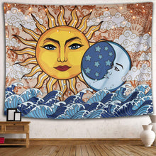 Load image into Gallery viewer, Celestial Tapestry - Sun Tapestry | Tapestry Girls