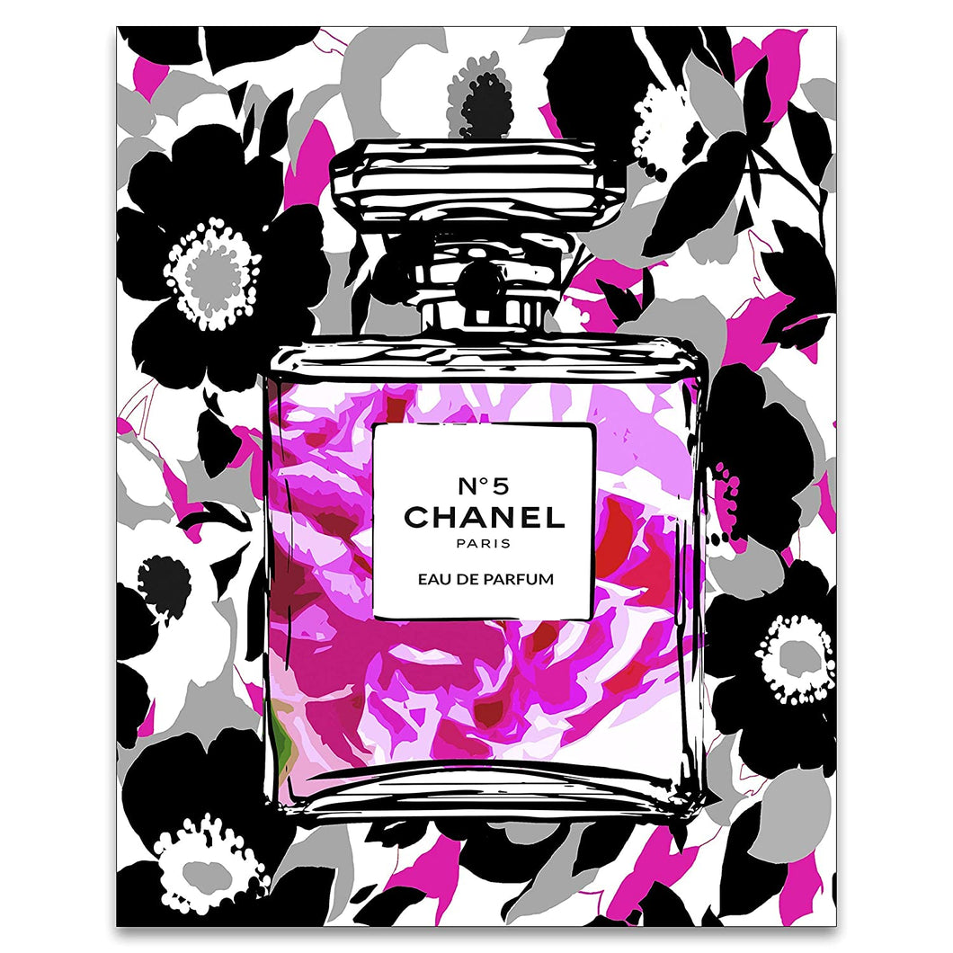 Chanel Pink Poster - Tapestry Girls