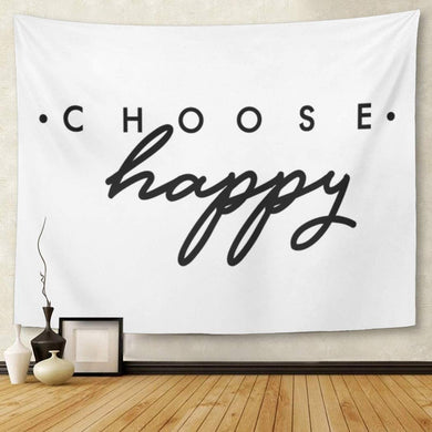 Choose Happy Tapestry - Tapestry Girls