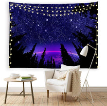 Load image into Gallery viewer, Constellation Forest Tapestry - Tapestry Girls