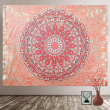 Load image into Gallery viewer, Coral Mandala Tapestry - Tapestry Girls