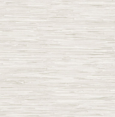 Cream Grassweave Removable Wallpaper - Tapestry Girls