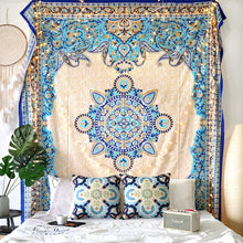 Load image into Gallery viewer, Creme Medallion Tapestry