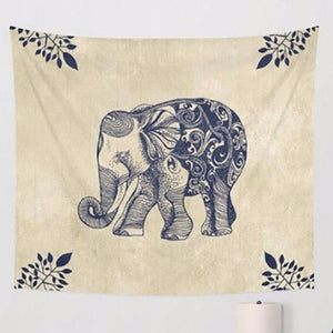 Native Creme Elephant - Tapestry Girls