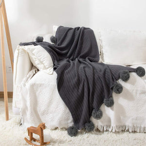 Pom Pom Blanket - Tapestry Girls
