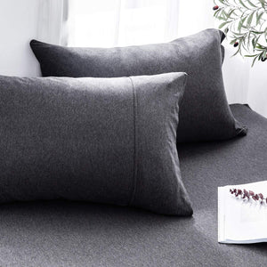 The Loft Dark Gray Pillow Case Set - Tapestry Girls