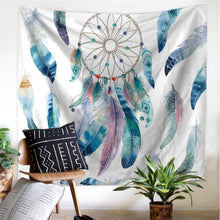 Load image into Gallery viewer, Natural Dream Catcher Tapestry - Tapestry Girls