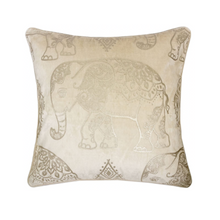 Load image into Gallery viewer, Elephant Majestic Pillow - Tapestry Girls
