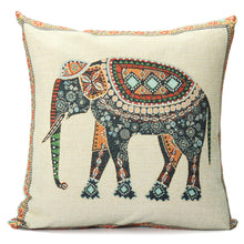 Load image into Gallery viewer, Elephant Royalty Pillow - Tapestry Girls