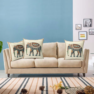 Elephant Royalty Pillow - Tapestry Girls