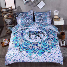Load image into Gallery viewer, Elephant Mandala Bedding - Tapestry Girls