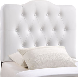 Emily White Tufted Headboard - Tapestry Girls