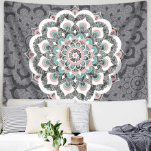 Load image into Gallery viewer, Flamingo Mandala Tapestry - Tapestry Girls