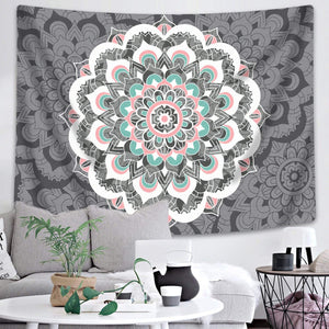 Flamingo Mandala Tapestry - Tapestry Girls