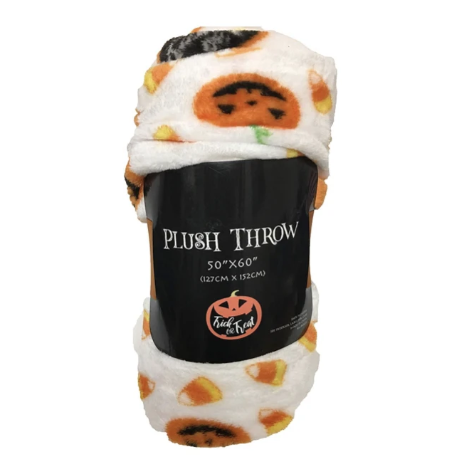 Pumpkin Fleece Blanket - Tapestry Girls