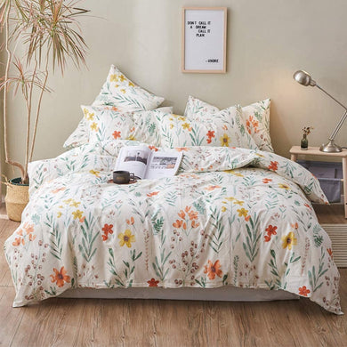 The Floral Garden Bed Set - Tapestry Girls