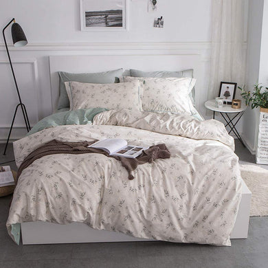 The Floral Green Bed Set - Tapestry Girls