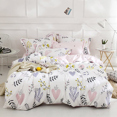 The Floral Heart Bed Set - Tapestry Girls