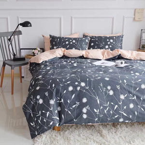 The Floral Navy Bed Set - Tapestry Girls