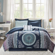 Load image into Gallery viewer, The Floral Paisley Blue Bed Set - Tapestry Girls