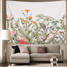 Load image into Gallery viewer, Floral Plants Tapestry - Tapestry Girls
