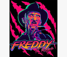 Load image into Gallery viewer, Freddy Krueger Poster - Tapestry Girls