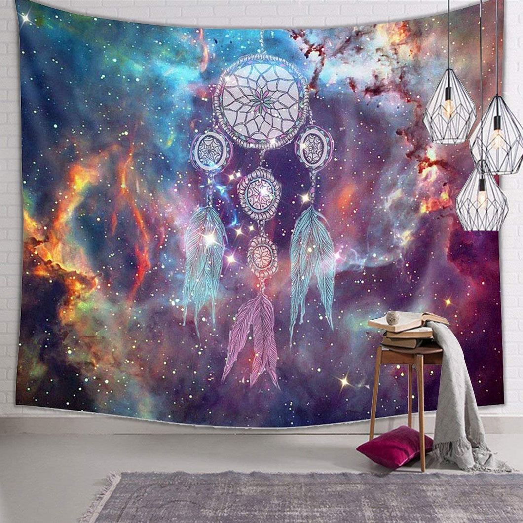 Cosmic Dream Catcher Tapestry - Tapestry Girls