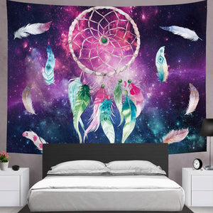 Galaxy Dream Catcher Tapestry - Tapestry Girls