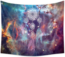 Load image into Gallery viewer, Cosmic Dream Catcher Tapestry - Tapestry Girls