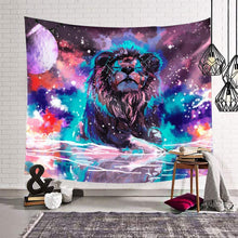Load image into Gallery viewer, Galaxy Lion Tapestry - Tapestry Girls