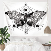 Load image into Gallery viewer, Geometric Butterfly Tapestry - Tapestry Girls