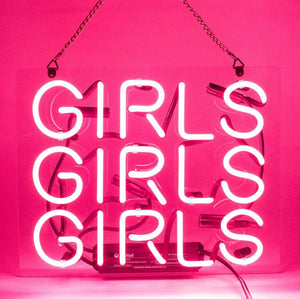 Girls Neon Sign - Tapestry Girls