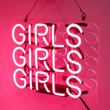 Load image into Gallery viewer, Girls Neon Sign - Tapestry Girls