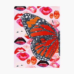 Glow Girl Butterfly Poster - Tapestry Girls