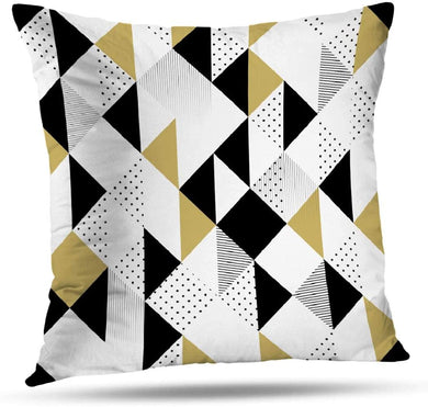 Gold Triangle Pillow - Tapestry Girls