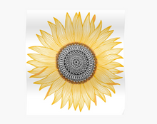 Load image into Gallery viewer, Golden Sunflower Poster - Tapestry Girls