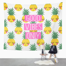 Load image into Gallery viewer, Pineapple Vibes Tapestry - Tapestry Girls