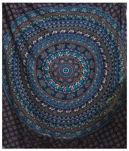 Grace Mandala Tapestry - Tapestry Girls