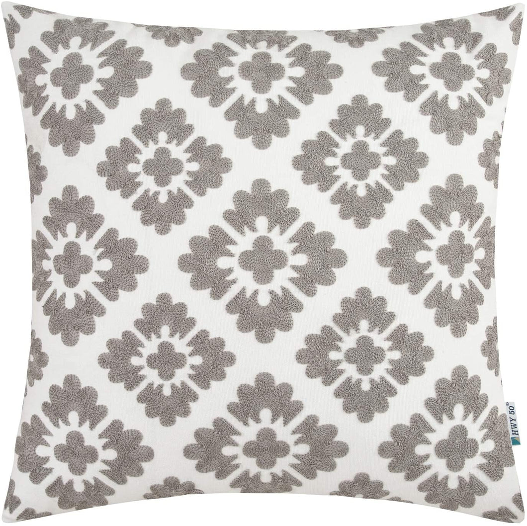Gray Diamond Pillow - Tapestry Girls