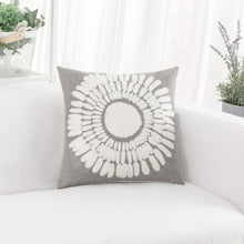 Load image into Gallery viewer, Gray Sunflower Pillow - Tapestry Girls